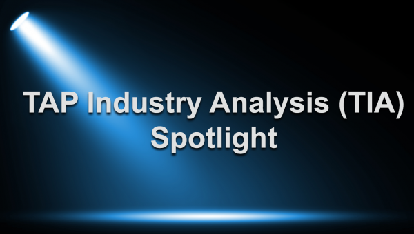 TAP Industry Analysis (TIA) Spotlight - Charles Savage, Client Services Exec MCG